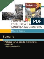 Power Point 2 (Tema 3) - Métodos Para o Estudo Do Interior Da Terra - métodos Directos
