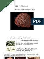 Neurobiologie - Curs 1