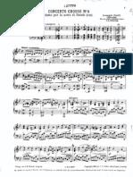 Corelli - Concerto Grosso No8 Piano