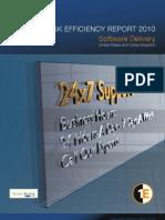 Help Desk Efficiency Report 2010: