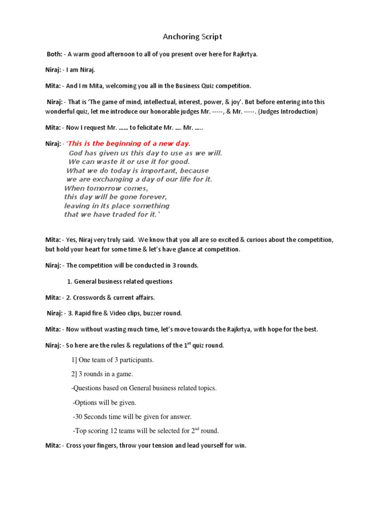 sc 1 st  Scribd & B- Quiz Anchoring azcodes.com