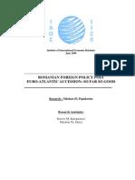 Papakostas Report- Romania - Final- 13-5-2009