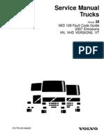 volvo error codes turbocharger diesel engine rh scribd com