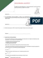 Estudinho matematica - 09-03-12