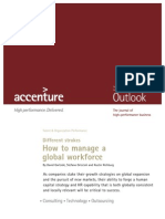 Accenture Outlook How to Manage a Global Workforce
