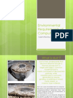 Environmental Requirements of Computers