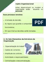 aula - projeto organizacional