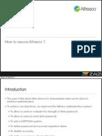 Zaizi Alfresco Solutions - Securing Alfresco for Extranet Access