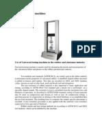 Laboratory Equipment Report