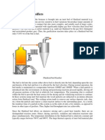 Fluidized Bed Gasifiers