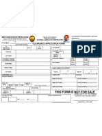 NBI Clearance Application Form