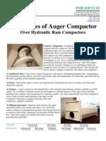 Advantages of Auger Compactor