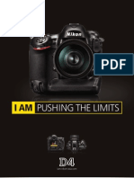 Nikon D4 DSLR Brochure