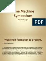 Time Machine Symposium
