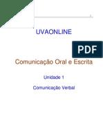 1 - Comunicação Verbal