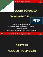Radiologìa Toràcica 3...seminario