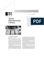 Chapter 53 - Textile Manufacturing Industry