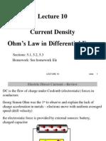 L10 Current Density Ohm Post