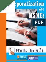 SIDBI-Walk in Kit