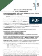 Contenidos Educación vial para 5º EPO