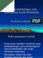 Respon Emosional Dan Gangguan Alam Perasaan