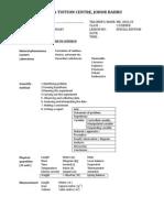 Summary Form 1