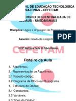 02 - Lógica e Linguagem de Programação - Introdução a Algoritmos