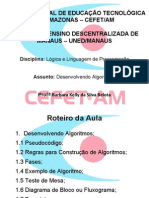 AULA 3 - LÓGICA DE PROGRAMAÇÃO