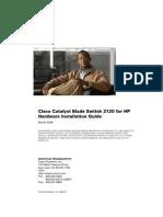 Cisco 3120 x Stack c01430321