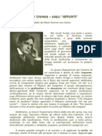 """Rudolf Steiner - Dagli """"Appunti"""""""