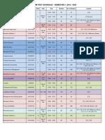 CoCM Mid-Term Schedule - Semester 2012A (Updated 20 Mar)