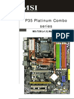 MSI P35 Platinum Combo Manual