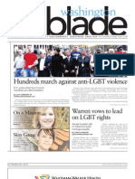 WashingtonBlade.com Volume 43, Number 12, March 23, 2012