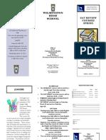 SAT Brochure Spring 2012