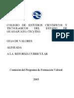Guía valores ref. curr