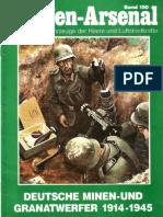Waffen Arsenal 150 Deutsche Minen Und Granatwerfer 1914 1945