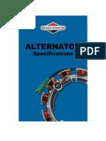 Alternator Specification