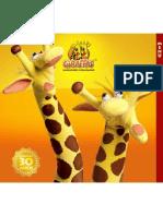 Giraffas cardapio