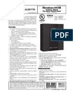 Fire Alarm Control Panel Df-52095