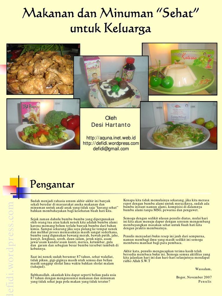 Buku Resep Masakan Indonesia Pdf ~ Resep Manis Masakan ...