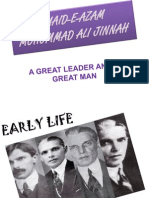 Quaid-e-Azam Mohommad Ali Jinnah