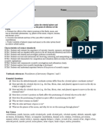 Patterns in Sky Objectives Sheet