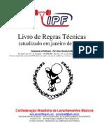 Livro de Regras Técnicas 2011