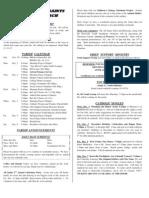 All Saints Bulletin 2008-11-30
