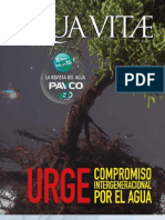 Revista del Agua PAVCO, Aqua Vitae edición 16