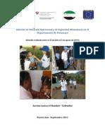 Informe de Situación Nutricional y de Seguridad Alimentaria en el Departamento de Putumayo, Colombia