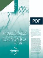 Sostenibilidad en el modelo de promoción económica local (Es)/ Sustainability in the model of local economic promotion (Spanish)/  Iraungarritasuna ekonomia lokalaren sustapenaren ereduan (Es)