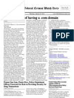 March 22, 2012 - The Federal Crimes Watch Daily