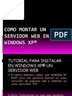 Como Montar Un Servidor Web en Windows Xp