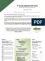 2012 Highlands Brochure